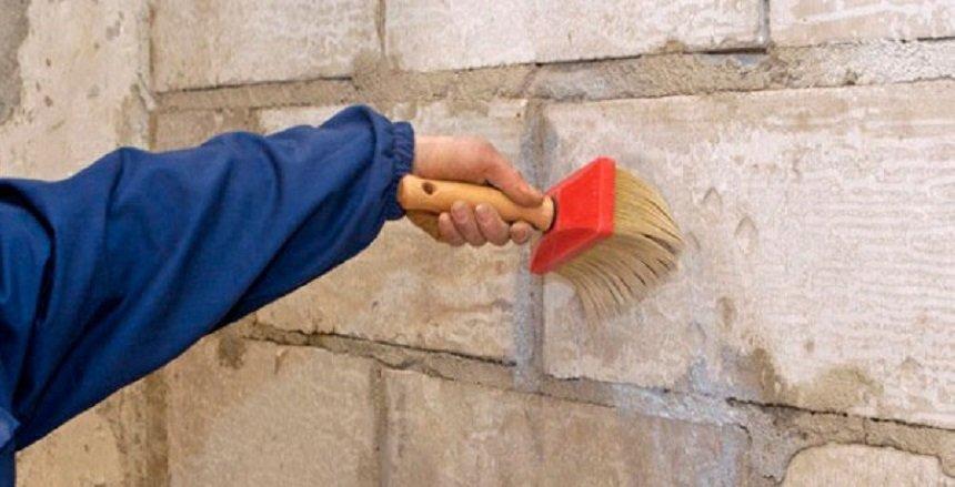 Грунтовка стен