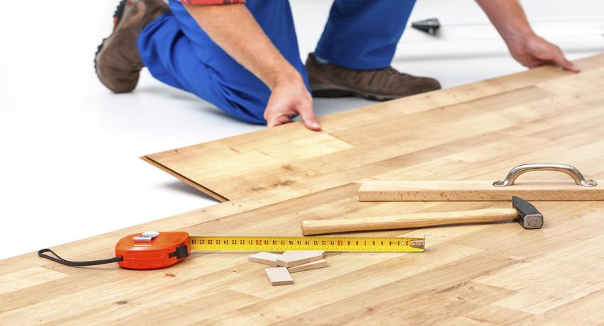 Как правильно уложить ламинат на бетонный пол своими руками