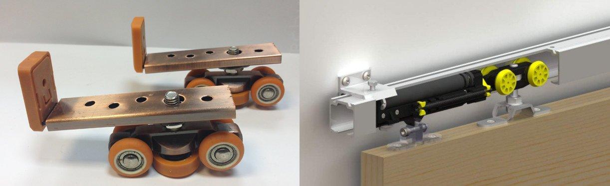 Раздвижные перегородки для зонирования комнаты: установка, фото