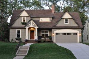 Проекты домов с гаражом под одной крышей: 50 лучших вариантов