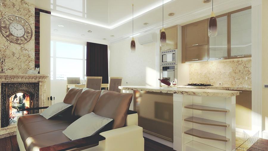 Интерьер гостиной Дизайн спальни 18 метров с балконом зонирование