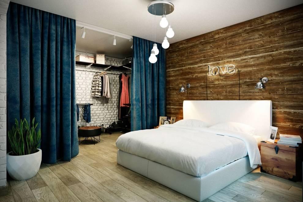 Отделка спальни в современном стиле