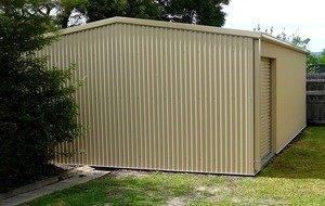 Бетонный гараж размер