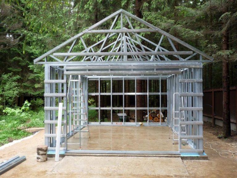 Как сделать дом из железа 486