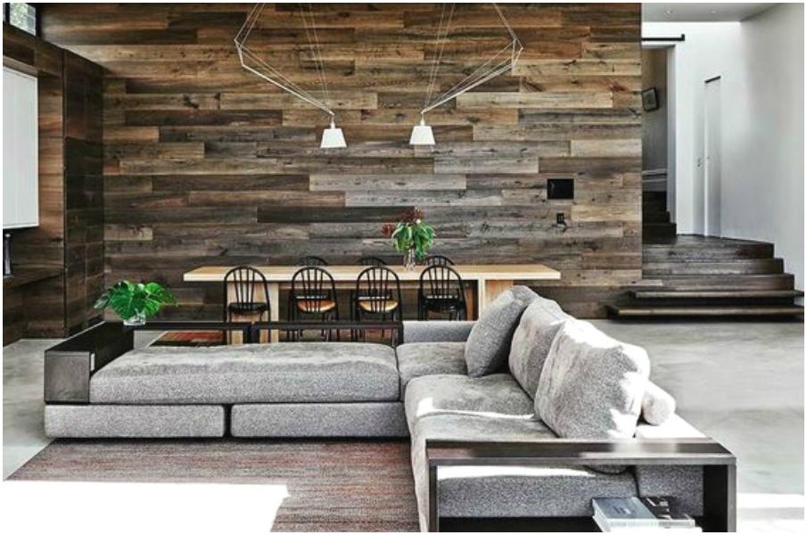 Красивый интерьер современной гостинной