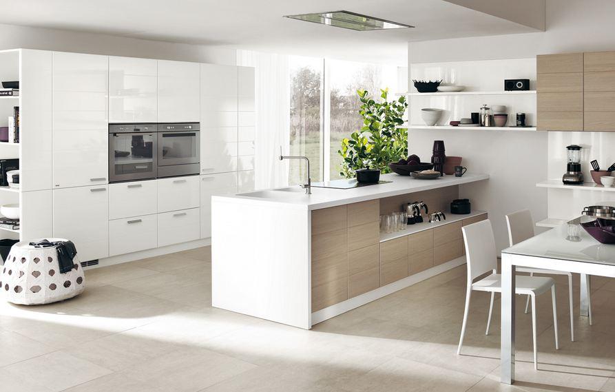Дизайн в бело-коричневом цвете подойдет динамичным людям