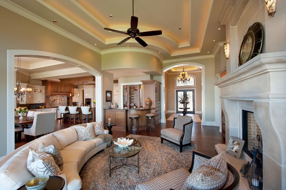 Многоуровневый потолок подчеркнет изысканность интерьера