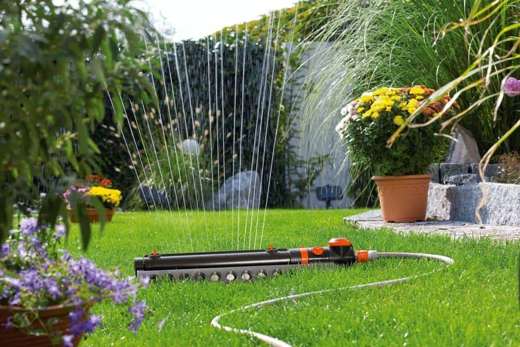 Автоматическая система полива - это гарантия качественного газона, а также экономия сил и времени