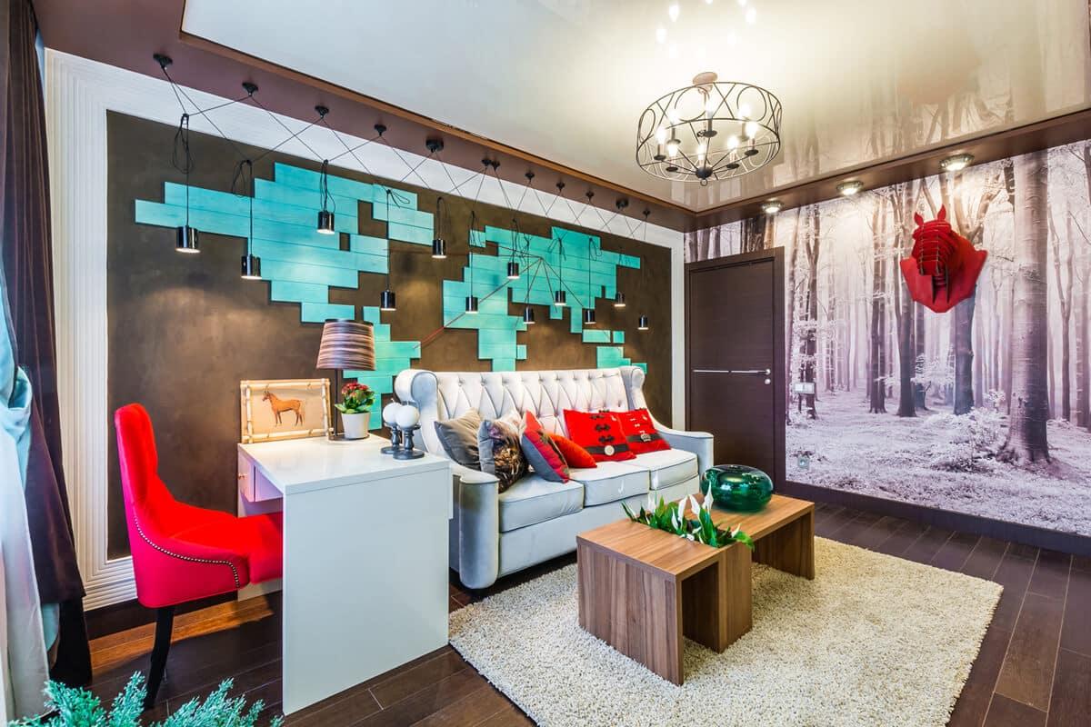 Яркое и правильное освещение поможет создать уютную атмосферу в доме