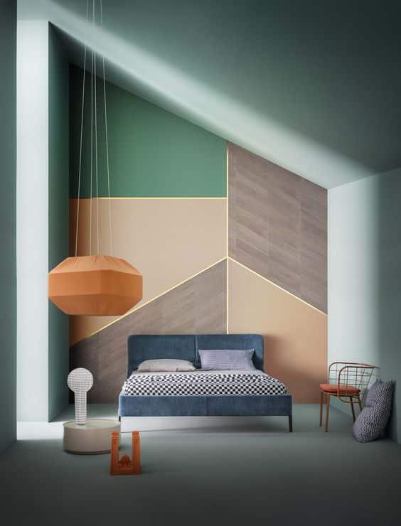 Идеальной четкой формы предметы, без коробочек, безделушек и прочего барахла, внесут особый шарм в стиль комнаты.