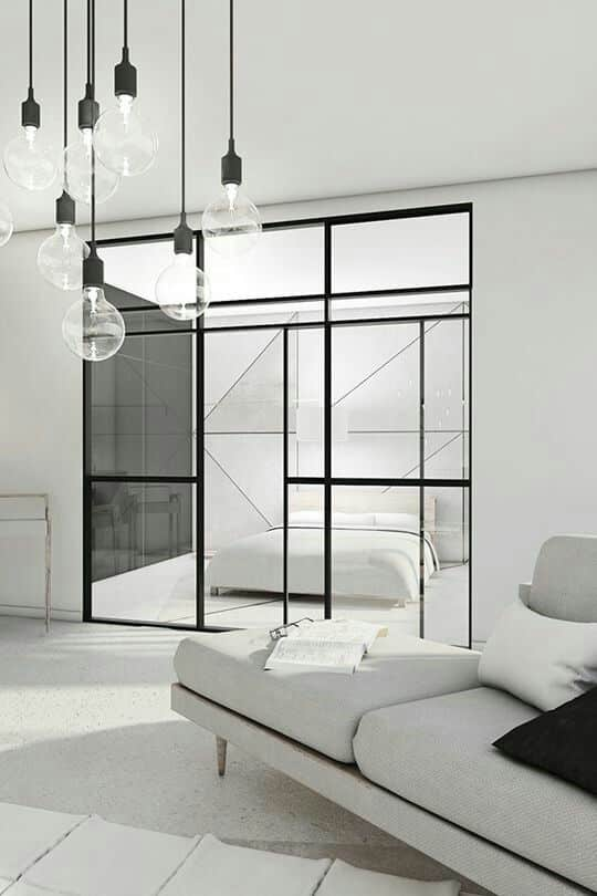 Белый цвет наполнит ваш дом ярким светом и создаст комфортную атмосферу