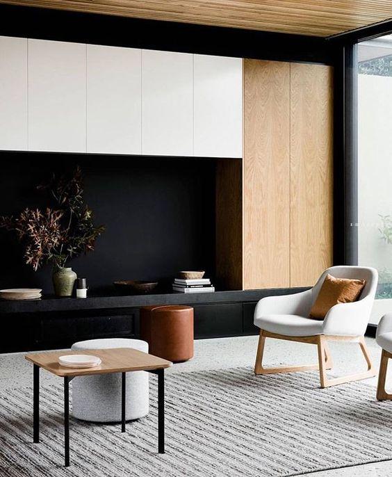 Мебель не должна быть громоздкой. Компактность – одно из главных требований к стилю минимализм