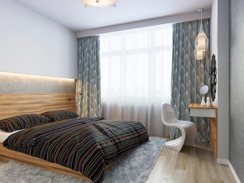 В спальне нельзя переборщить с декором. Используйте только те вещи, которые в ней действительно необходимы