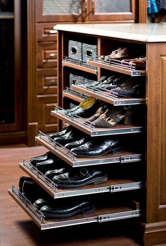 Удобный ящик для хранения обуви и прочих вещей