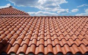 Крыша из керамической черепицы 2