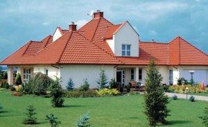 Крыша из керамической черепицы 3
