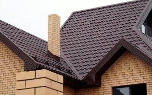 Крыша из металлочерепицы 3