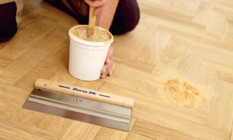 Шпатлевка для древесины