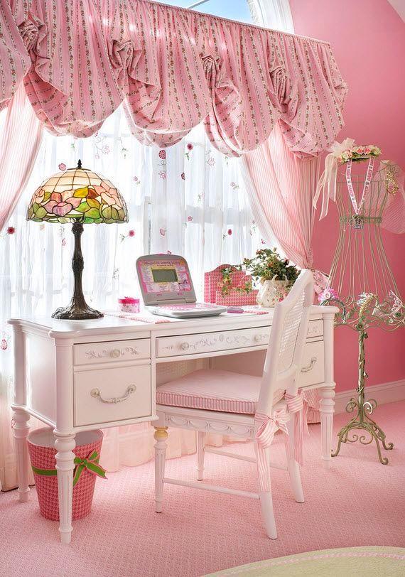 Розовый цвет символ радости, любви и доброты. Именно это и нужно маленькой принцессе