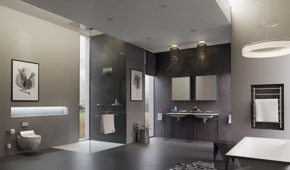 Достаточно хорошо осветив каждую зону в ванной, вы не будите ощущать дискомфорта