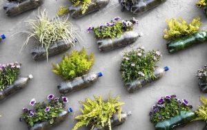 Вертикальные клумбы для цветов