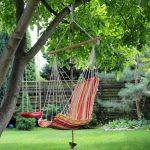 красивые качели на дереве