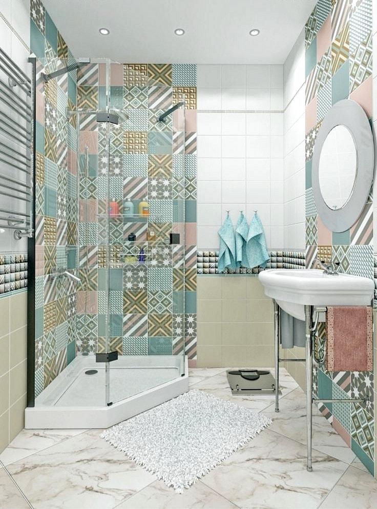 Создать уют и комфорт в ванной можно даже на небольшой площади