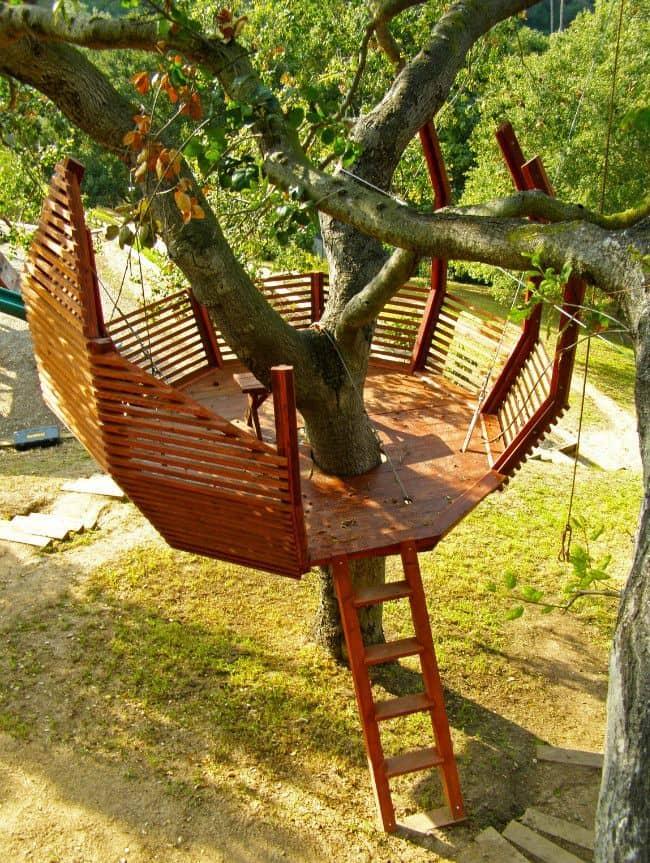 Дом на дереве своими руками детский 707