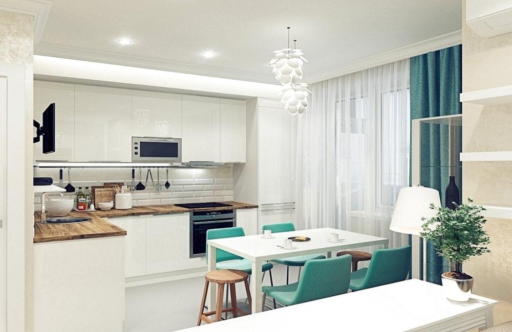 Атмосфера стиля прованс располагает к теплым душевным беседам, для кухни это как нигде актуально