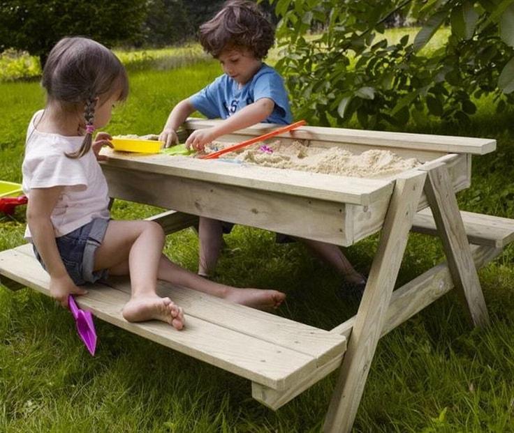 Столы для детей своими руками фото