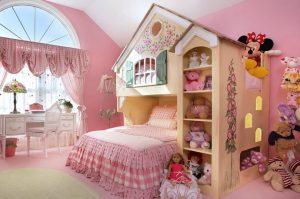 Идеи которые помогут красиво оформить комнату для девочки
