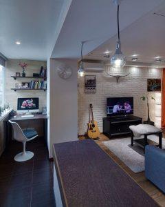 Дизайн квартиры студии, 100 Лучших Идей (55 фото)