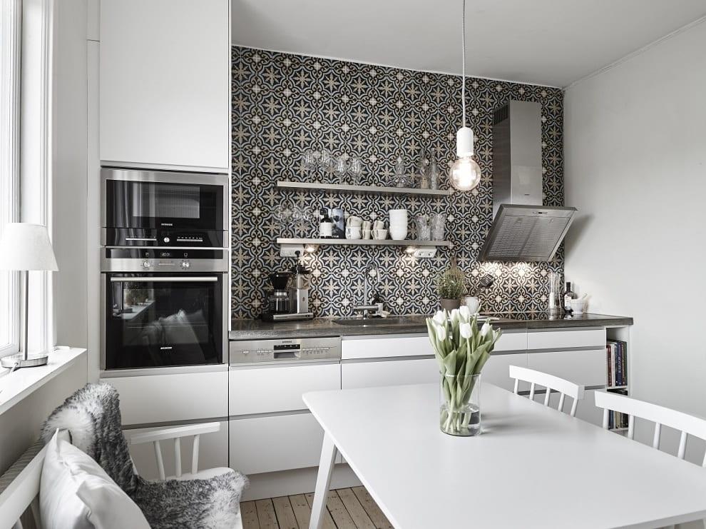 Создать на кухне уютный уголок под силу любому, главное правильно подобрать материалы