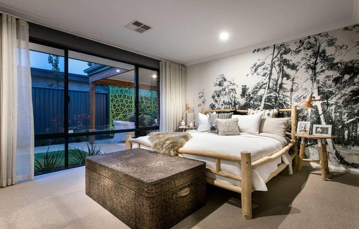 Оригинальная кровать в эко стиле преобразит любой интерьер