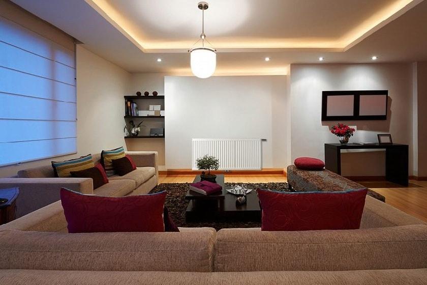 Освещение комнаты светодиодной лентой