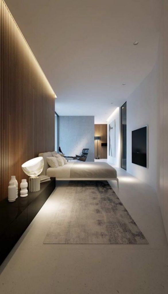 Подсветка в спальной комнате