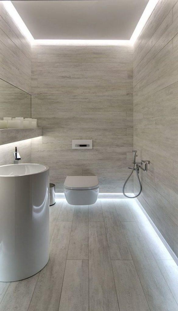 Свет в ванной