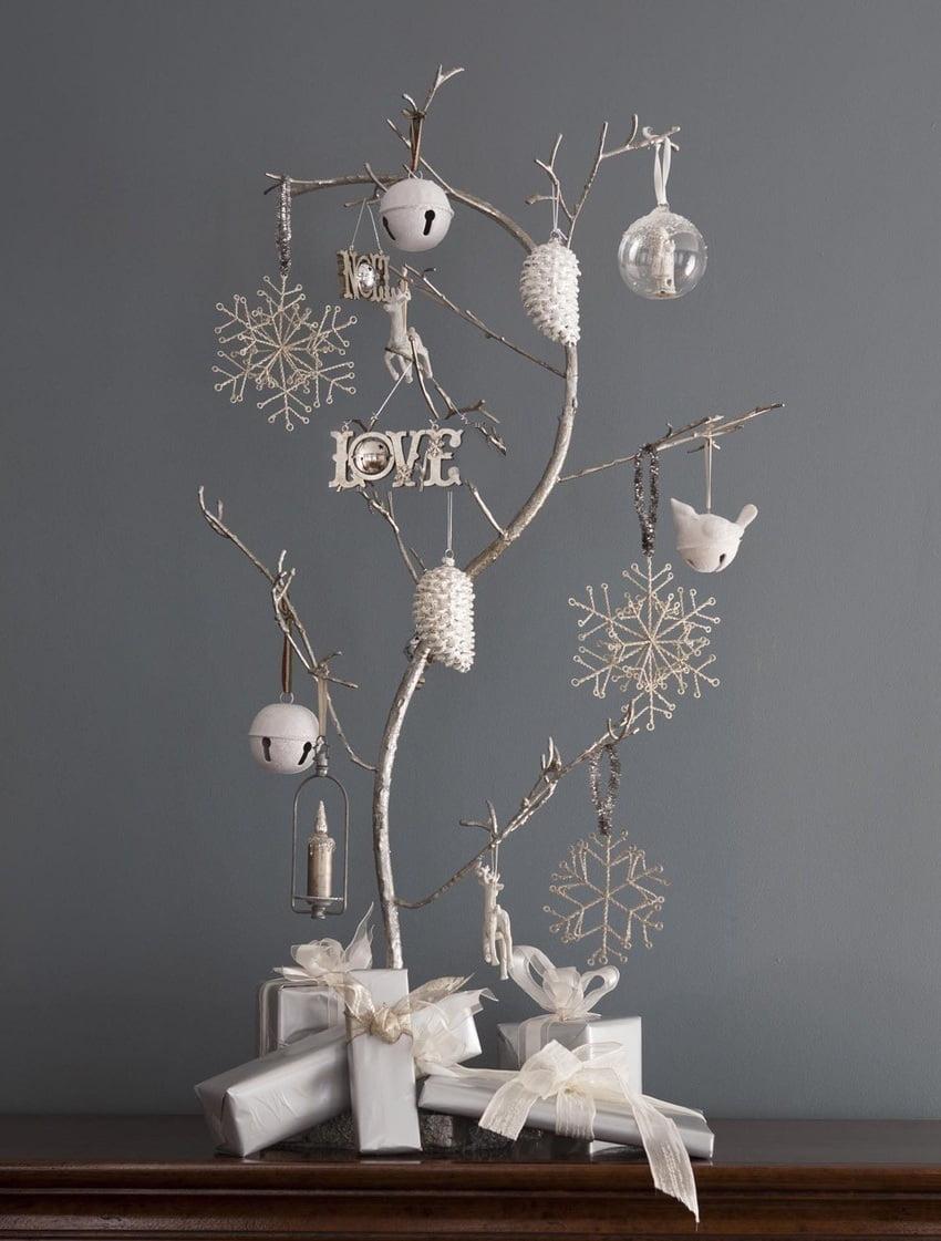 Интересная идея новогоднего декора