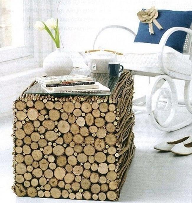 Использование природных материалов в дизайне интерьера дарит ощущение единения человека с природой