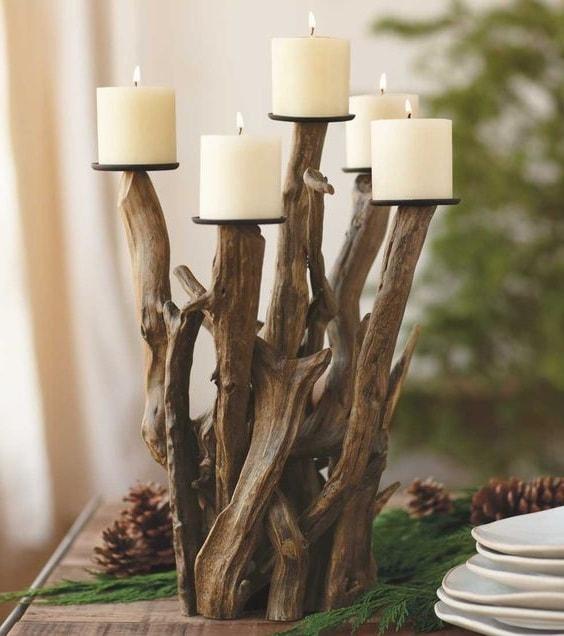 Декор из дерева и веток своими руками