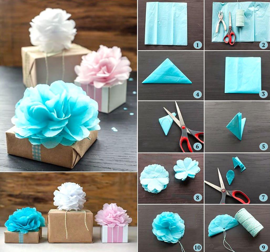Принимать оригинальный подарок, украшенный своими руками, вдвойне приятней