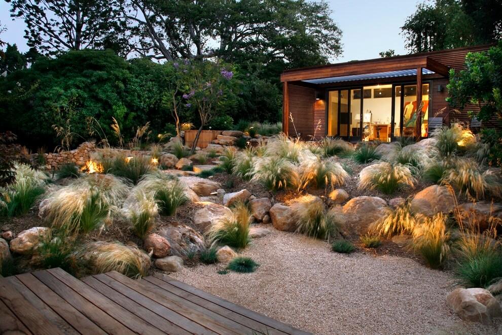 Рокарий - настоящий сад из камней обычных камней