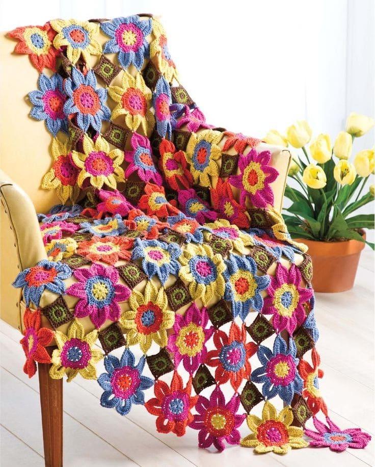 Дизайн коврика с частичкой душевного тепла и весеннего настроения
