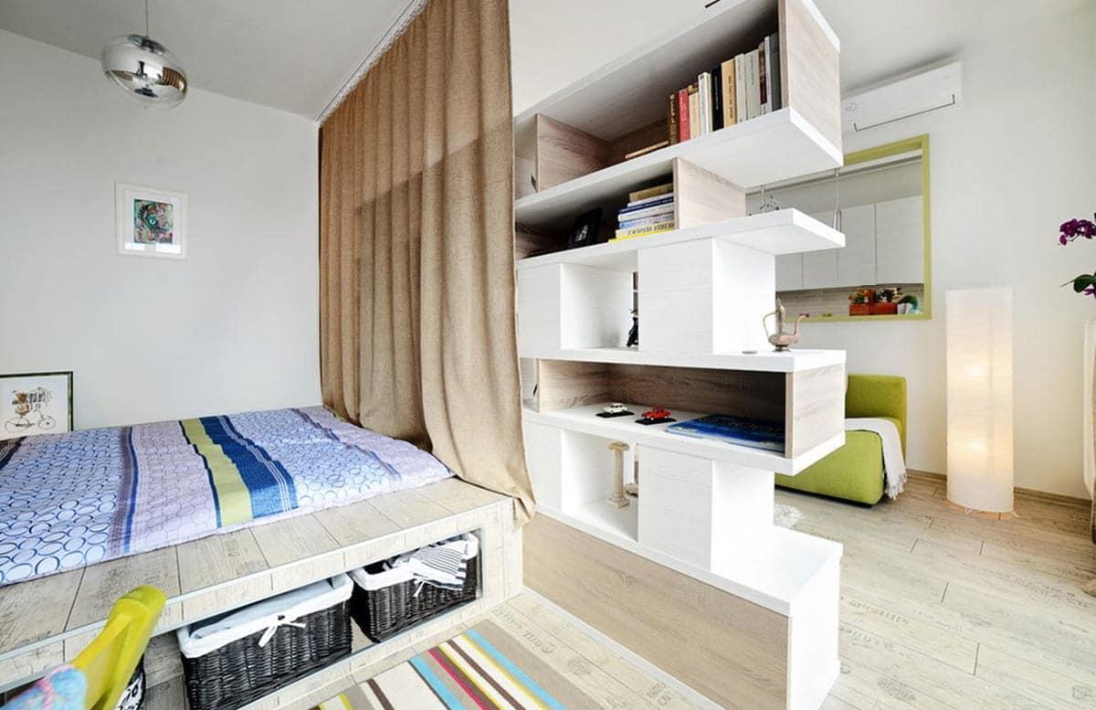 Необычное решение оформления квартиры-хрущевки в скандинавском стиле