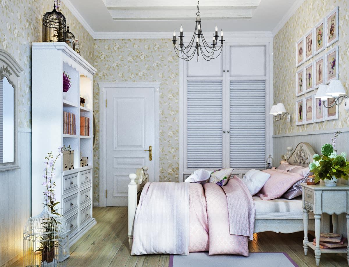 Искусственно состаренная мебель - является визитной карточкой стиля прованс