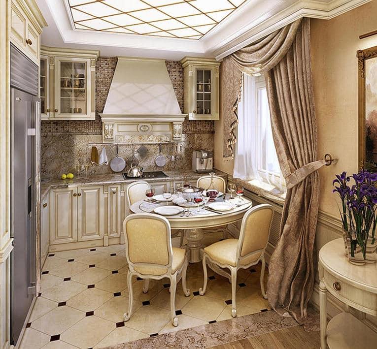 Мебель из массива - визитная карточка интерьера в классическом стиле