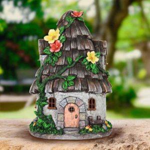 домик из коры