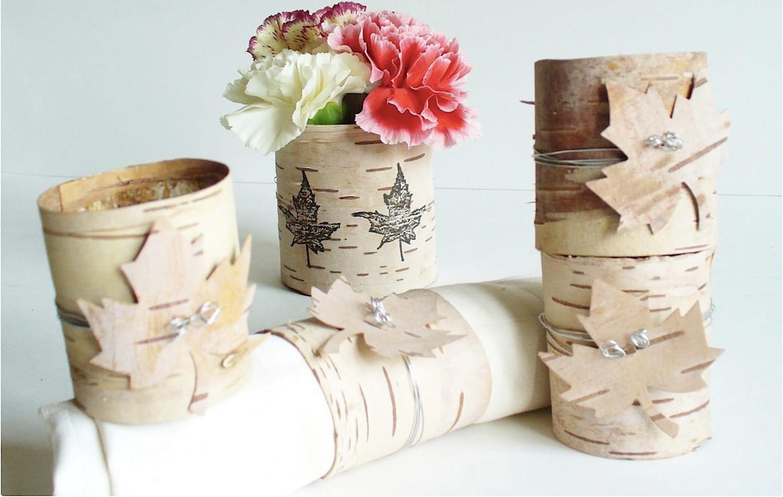 Кора березы считается одним из самых любимых материалов, используемый для работы мастерами рукоделия