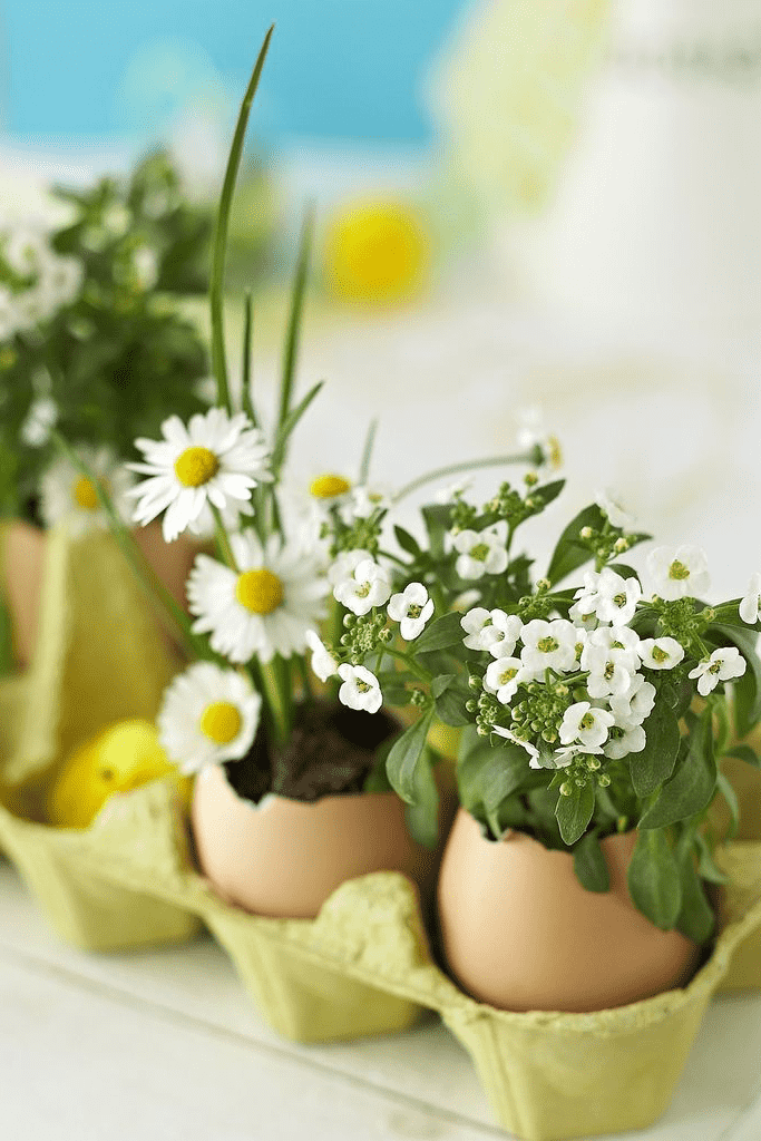 Cказочный сад из свежей зелени