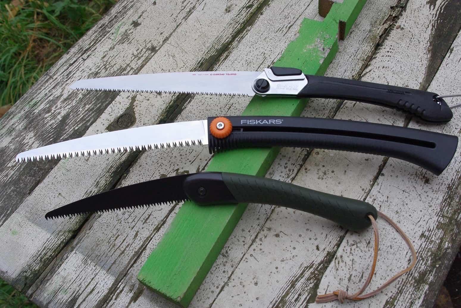 Варианты складных мини-ножовок по дереву с мелким зубом
